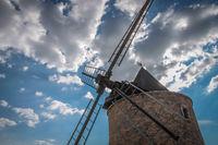 Old windmill in Saint-Saturnin-les-Apt