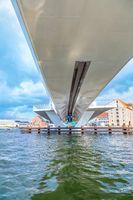 Modern Drawbridge in Copenhagen