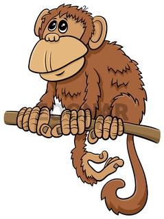 cartoon monkey comic animal character