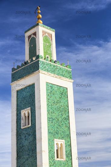 Minarett der Medersa Bou Inania Mosques