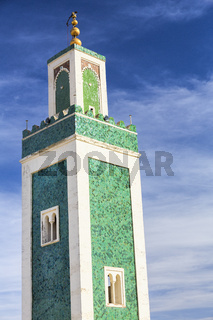 Minarett der Medersa Bou Inania Moschee