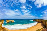 Azure ocean water