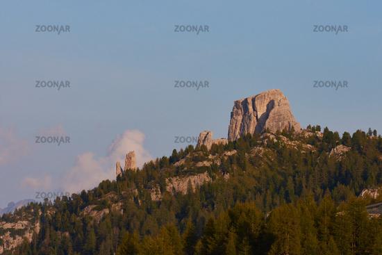Cinque Torri in the dolomites