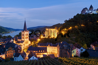 Bacharach am Rhein, Rheinland-Pfalz, Deutschland,