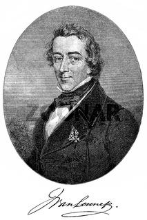 Jacob van Lennep, 1802 - 1868, a Dutch writer