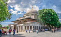 Tomb of Sultan Ahmet in Istanbul, Turkey