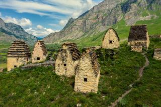 Dead Town Dargavs In North Ossetia