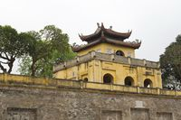 Partial View of the Imperial Citadel Thang in Hanoi