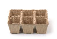 Pulp peat seedling pot