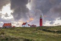 Sunset Lighthouse Texel Netherlands
