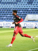 Bright Akwo Arrey-Mbi  FC Bayern München II DFB 3.Liga Saison 2020-21