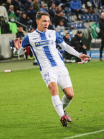 German footballer Alexander Bittroff 1st FC Magdeburg DFB 3rd league season 2020-21