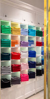 Polo shirt shop interior