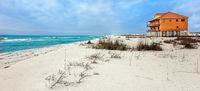 Navarre Beach on the Gulf of Mexico in Florida USA