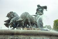 Gefion Fountain, Copenhagen, Denmark