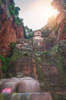 Majestic Giant Leshan Buddha statue