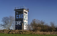 Relict of the past - Former border tower of the GDR