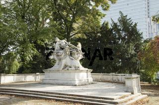 Kriegerdenkmal im Hofgarten, Düsseldorf, NRW, Deutschland
