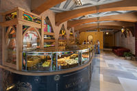 Argentina Cordoba Villa Carlos Paz famous family factory  of typical sweets interior view