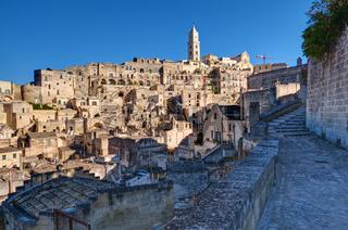 Die historische Altstadt von Matera