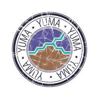 City of Yuma, Arizona vector stamp.eps