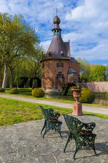 Ooidonk Castle in Belgium