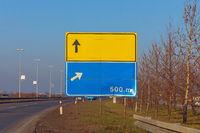 Traffic Sign Empty