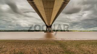 The Humber Bridge, North Lincolnshire, England