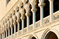 Columns of The Doges Palace