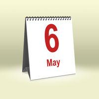 May 6th | 6.Mai
