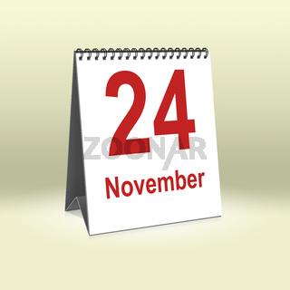 November 24th   24.November