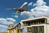 Protection against noise and environmental protection in air transport
