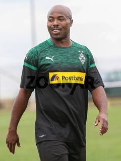 ehemaliger togoischer Fußballer Jacques Goumai  Borussia Mönchengladbach - Weisweiler Elf 2018