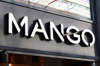 Mango brand sign at local fashion store in Hannover, Germany on March 2, 2020