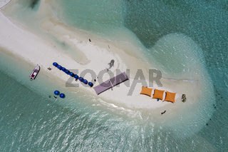 Unbewohnte Insel, Felidhu Atoll, Malediven