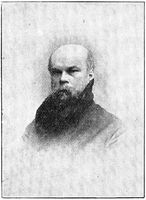 Portrait of Paul-Marie Verlaine - a French poet associated with the Symbolist movement.