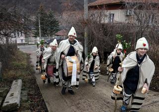 Koledari are Slavic traditional performers of a ceremony called koleduvane, a kind of Christmas caroling