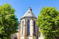 Evangelical church in Alsfeld in Vogelsberg district in central Hesse, Germany