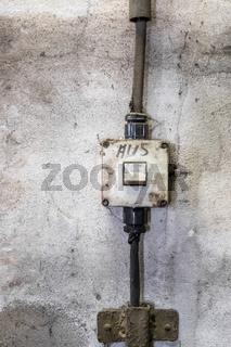 alter Lichtschalter
