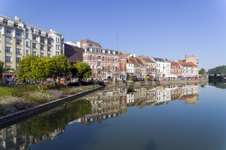 City pond.  Lille, France.