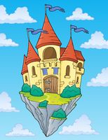 Flying castle theme image 2
