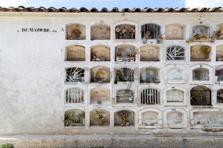 Graveyard in Huaraz, Peru