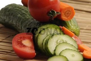 gurke karotte tomate