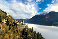 Castle above the clouds
