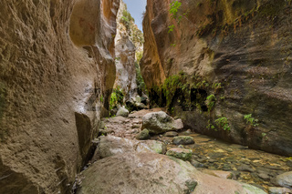 Avakas canyon in Cyprus island at Paphos