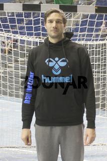 spanischer Handballspieler Carlos Prieto Martos -Saison 2013/14 HSG Wetzlar,Nationalspieler Spanien