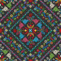 Hungarian embroidery pattern 28.eps