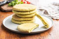 Indian pita bread