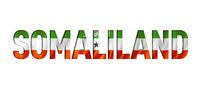 Somaliland flag text font