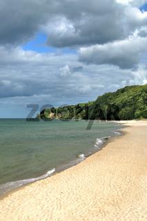 Strandabschnitt in Goehren,Ruegen,Ostsee,MVP,Deutschland